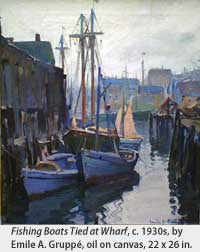 Fishing Boats by Emile Gruppe