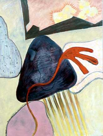 Orange Fingers by Marion Lane
